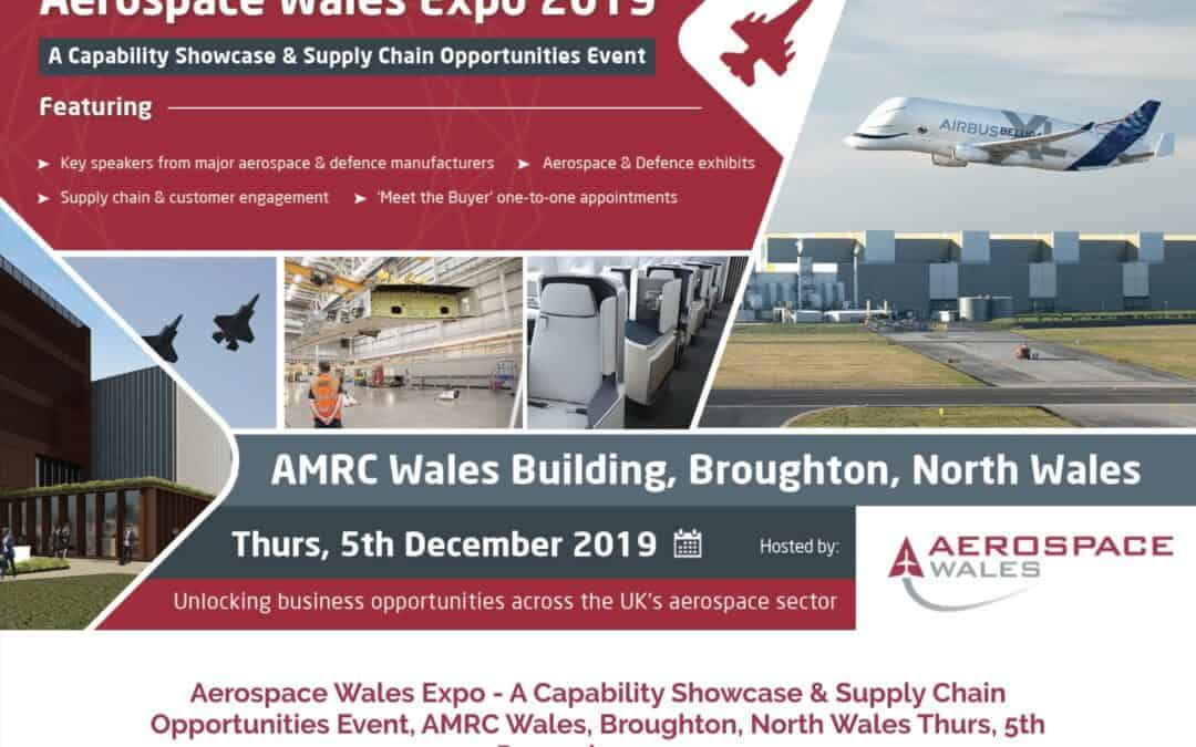 Exhibiting at the Aerospace Wales Expo 2019
