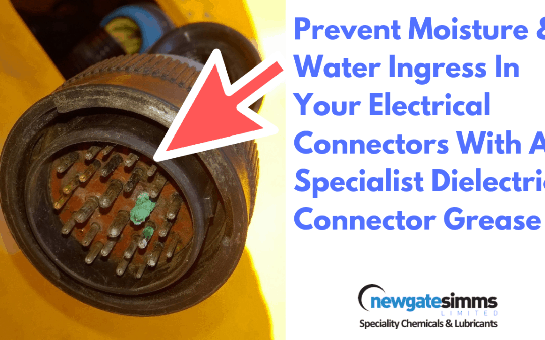 New video-Advice for customers that have electrical connector water ingress problems
