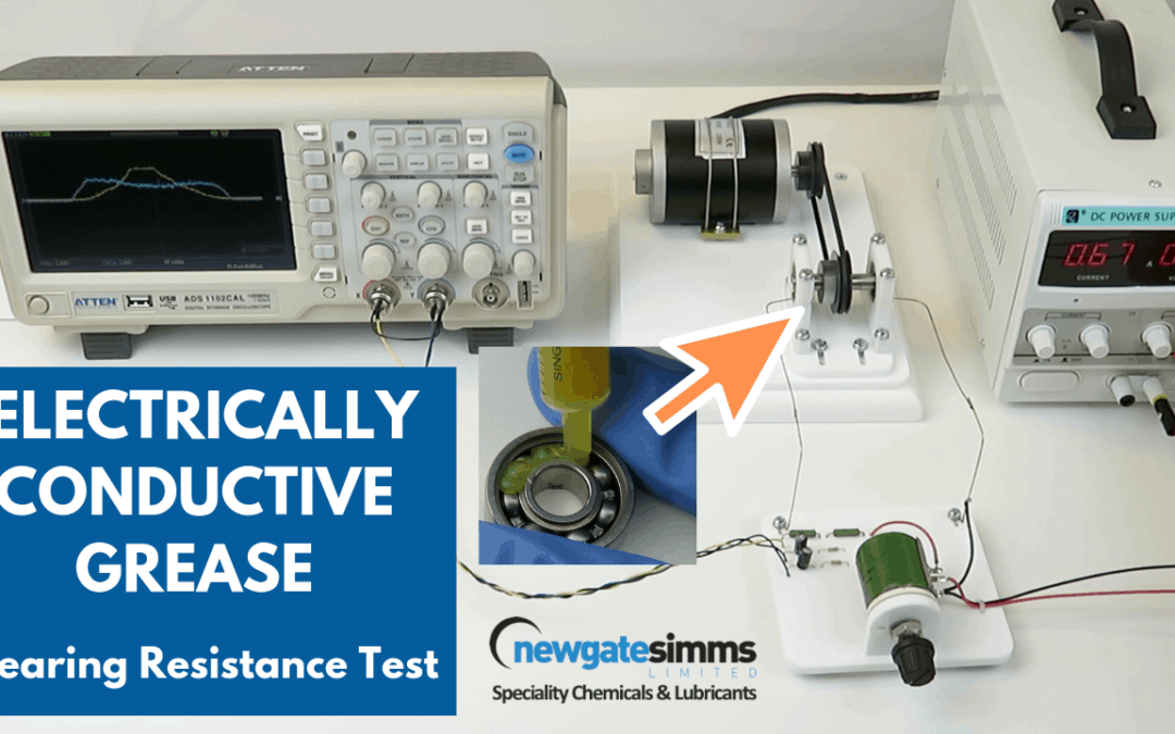 New Video-Conductive grease bear resistance test